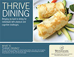 Download the Thrive Dining Brochure