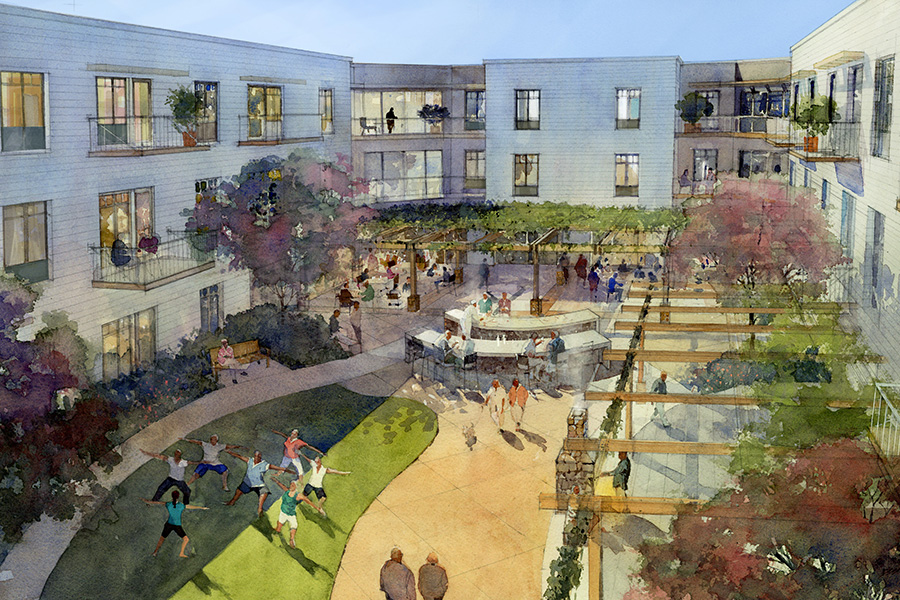The Watermark At Napa Valley A New Senior Living Community